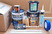 American Beadboard paint kit