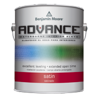 Advance paint by Benjamin Moore is a very good quaulity paint for the beadboard and the moldings