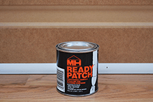 MH Ready Patch Wood Filler professional spackling and patching compound for interior and exterior use. Shrink and Crack Resistant, fast drying and easy to sand