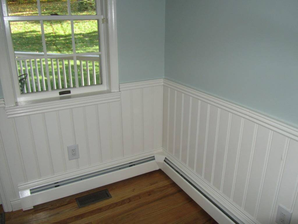 American Beadboard Kits installed in a bedroom in Briarcliff Manor NY