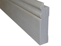 "4 1/2"" Baseboard Molding made from Poplar wood."