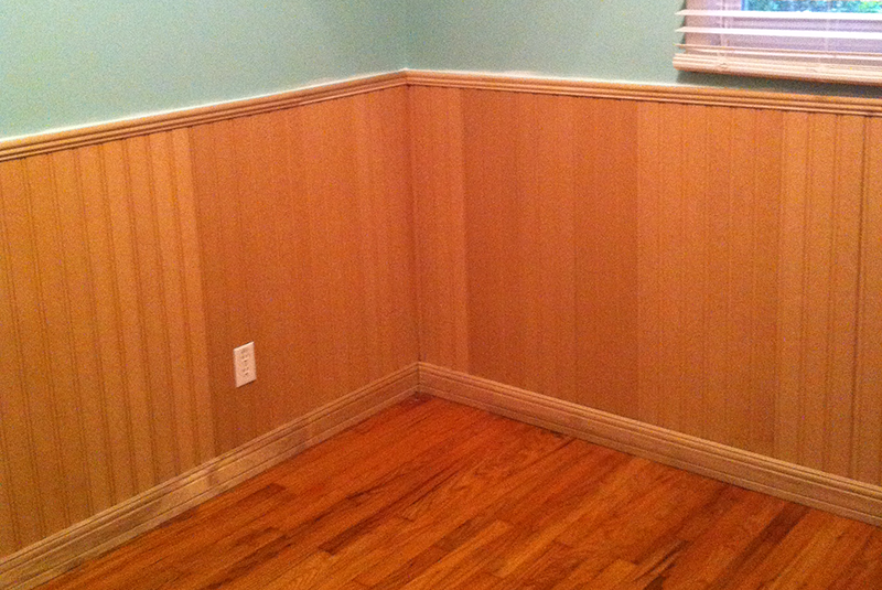 Beadboard in a Bedroom, Chicago Illinois