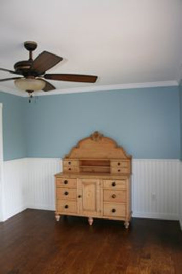 Beadboard in a bedroom in Lake Orion Michigan by AmericanBeadboard.com